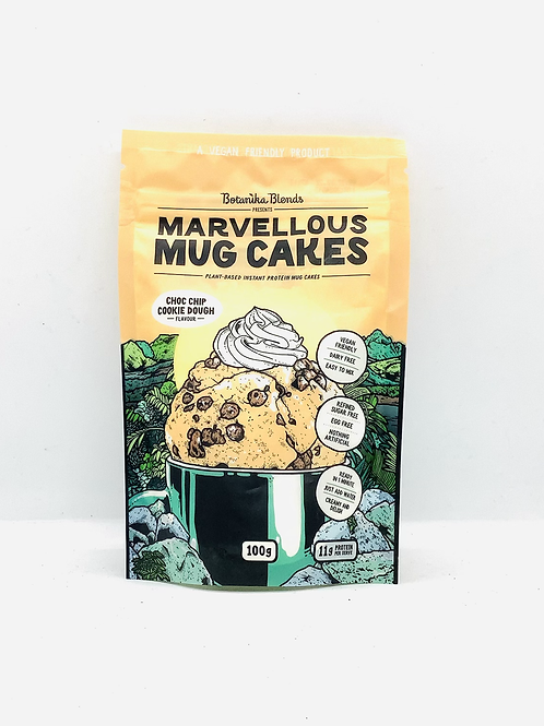 BOTANIKA MARVELLOUS MUG CAKE CHOC CHIP COOKIE DOUGH 100G