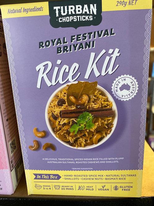 TURBAN CHOPSTICKS - Rice Kit, Royal Festival Briyani