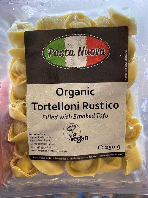 Pasta Nuova, Organic Tortelloni Rustico, Smoked Tofu
