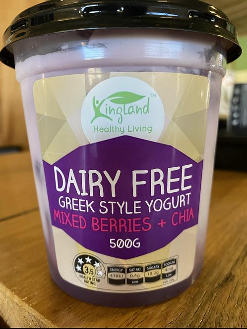 KINGLAND - Greek Style Yoghurt, Mixed Berries