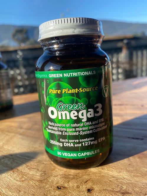 GREEN NUTRITIONALS - Vegan Omega 3 30 cap