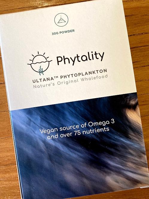 PHYTALITY - Ultana Phytoplankton Powder