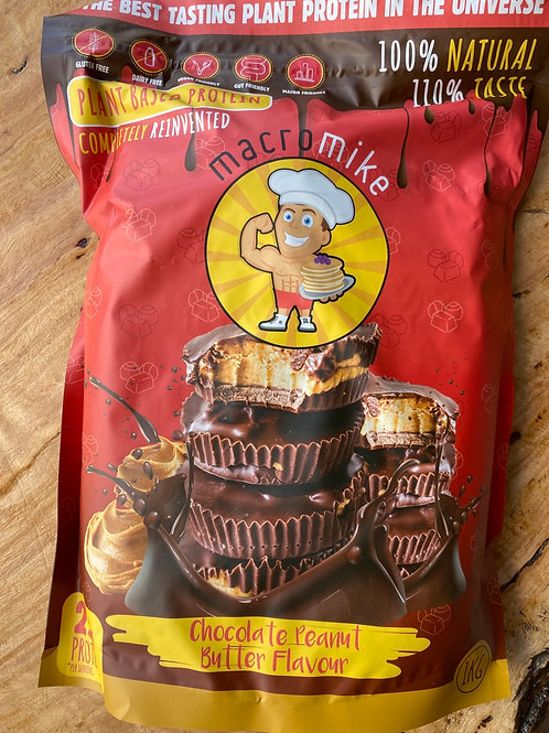 MACRO MIKE - Protien Powder, Choc Peanut Butter 1kg