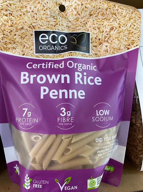 ECO ORGANICS - Brown Rice Penne 200g