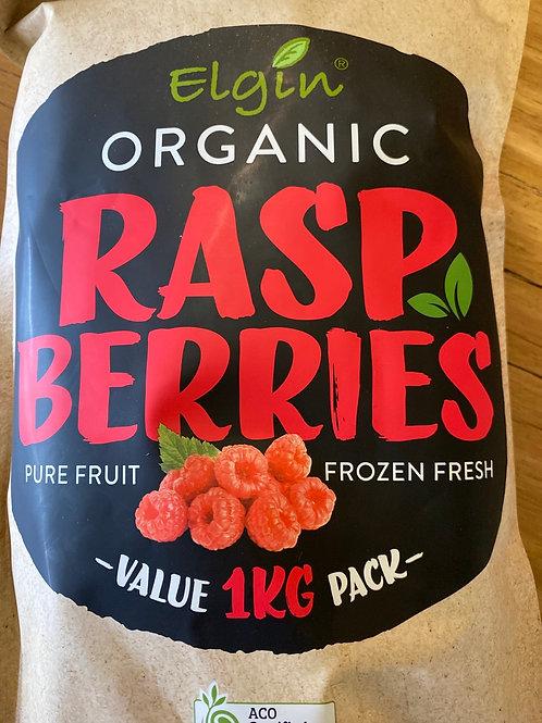 ELGIN ORGANIC - Raspberries (frozen)