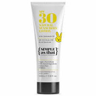 Natural Sunscreen Kids SPF 30