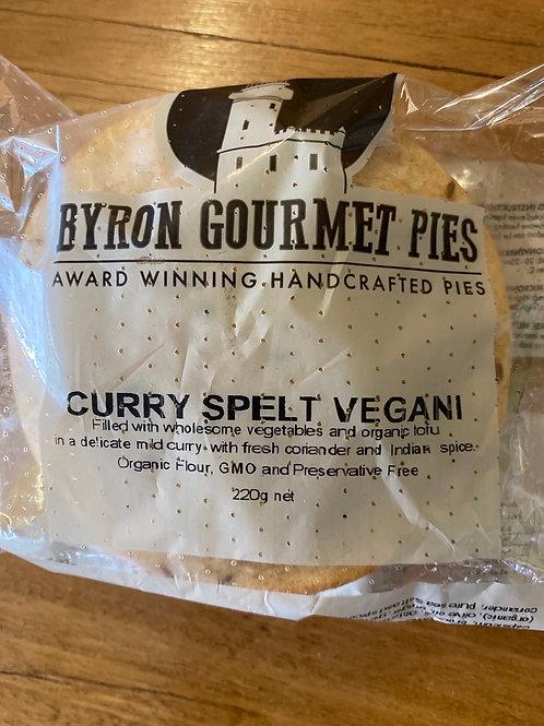 BYRON GOURMET PIES - Curry Spelt Vegani