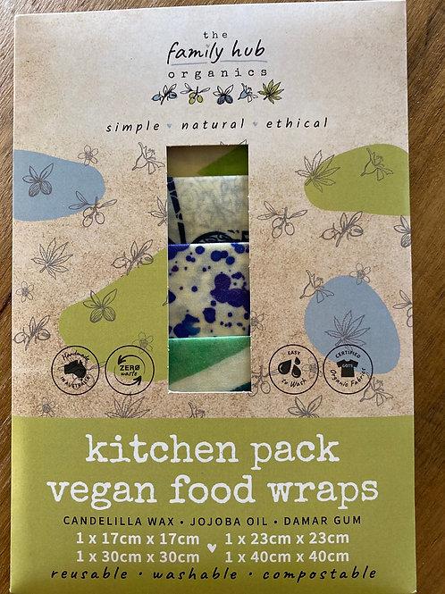 Vegan Food Wraps - Kitchen Pack
