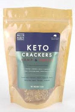 KETO CRACKERS - Hemp and Chilli