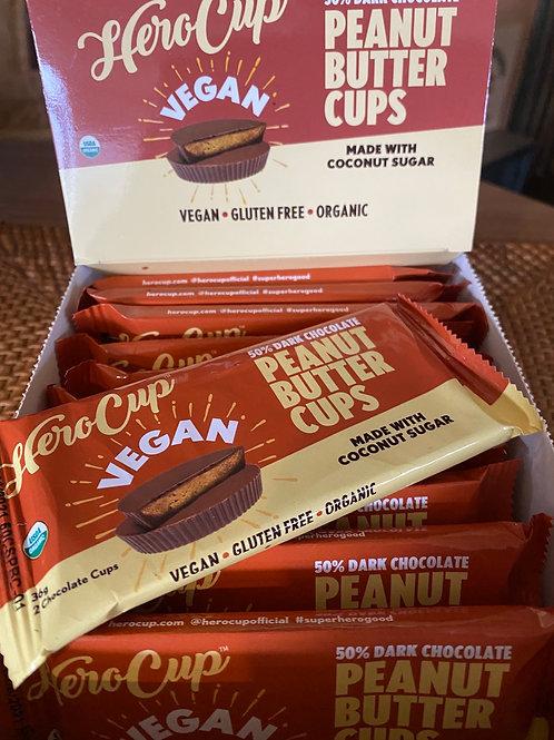 HERO CUP - 50% Dark Choc Peanut Butter Cups