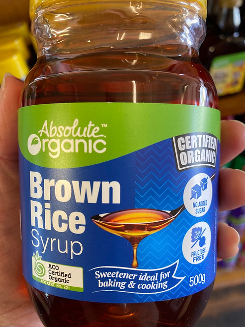 ABSOLUTE ORGANICS - Brown Rice Syrup 500g