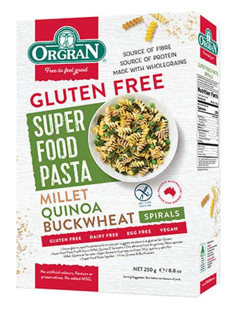 ORGRAN - Superfood Pasta, Spirals