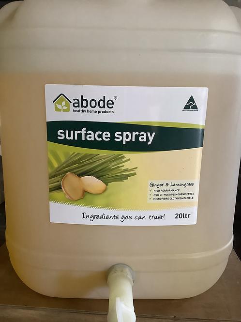ABODE - Surface Spray, Ginger and Lemongrass, Natural 500ml