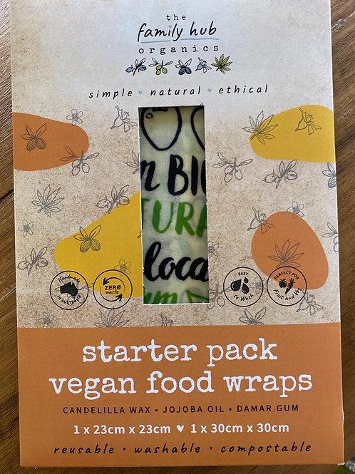 Vegan Food Wraps - starter pack