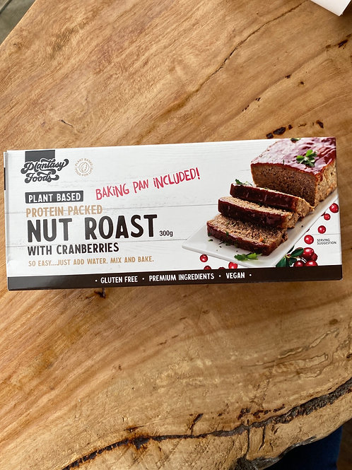 PLANTASY FOODS - Nut Roast with Cranberries 300g