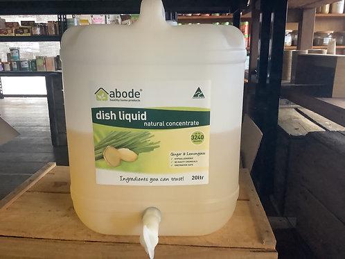 ABODE - Dish Liquid, Ginger and Lemongrass, Natural 500ml