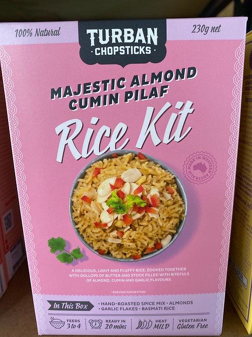 TURBAN CHOPSTICKS - Rice Kit, Majestic Almond Cumin Pilaf