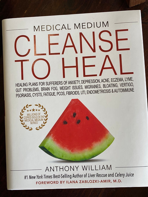 BOOK - Medical Medium, Cleanse To Heal