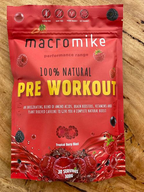 MACRO MIKE - Pre Workout, Tropical Berry Blast