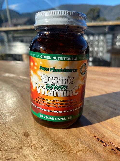 GREEN NUTRITIONALS - Organic Vit C  60 caps