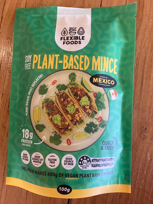 FLEXIBLE FOODS - Plant Bases Mince, Mexico