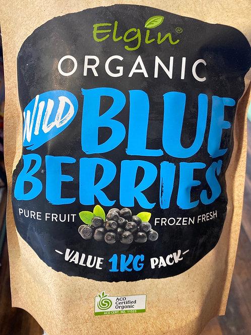 ELGIN - Organic Wild Blueberries 1kg