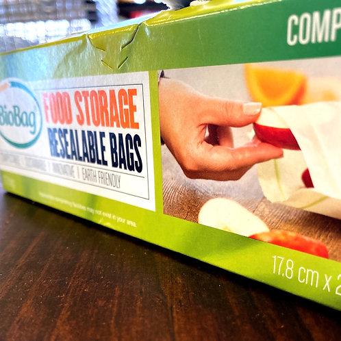 BIO BAG - Food Storage Resealable Bags