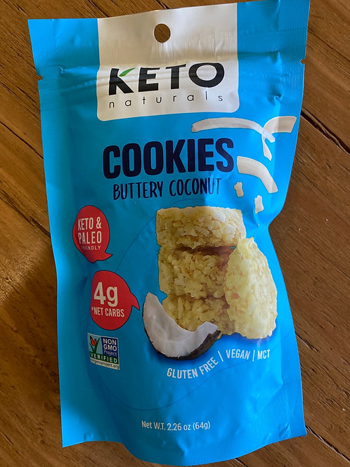 KETO NATURALS - Cookies, Buttery Coconut