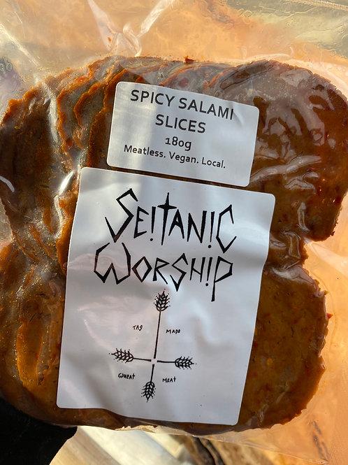 SEITANIC WORSHIP - Spicy Salami Slices