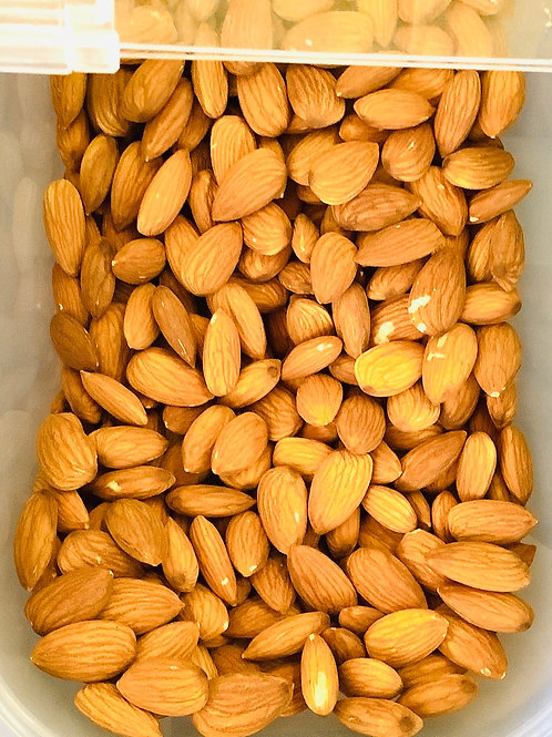 NUTS - Almonds, Raw, Insecticide Free 100g
