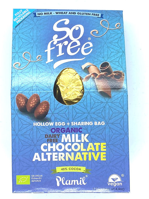 SO FREE - Organic Milk Choc Hollow Egg and Share Bag