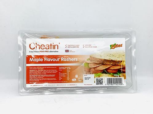 CHEATIN - Maple Bacon Rashers 115g