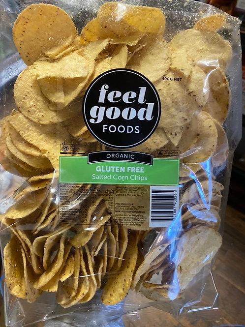 ORGANIC Salted Corn Chips 400g