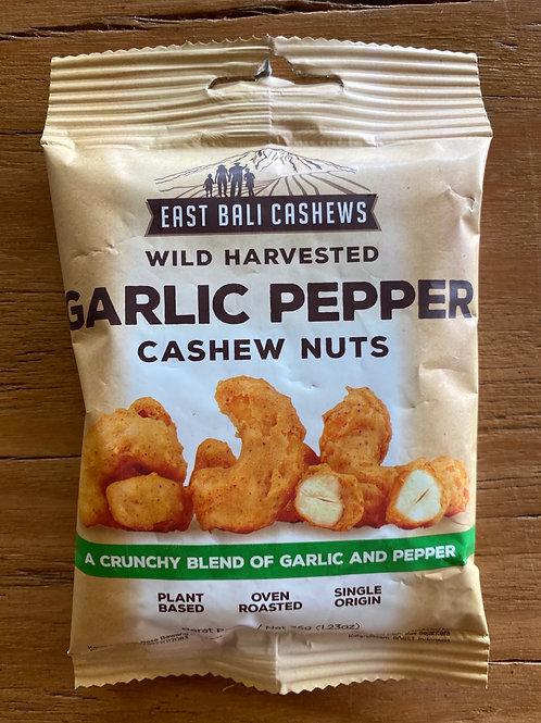 Garlic Pepper Cashews35g