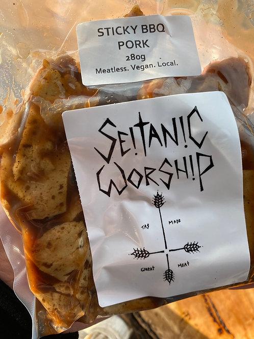 SEITANIC WORSHIP - Sticky BBQ Pork