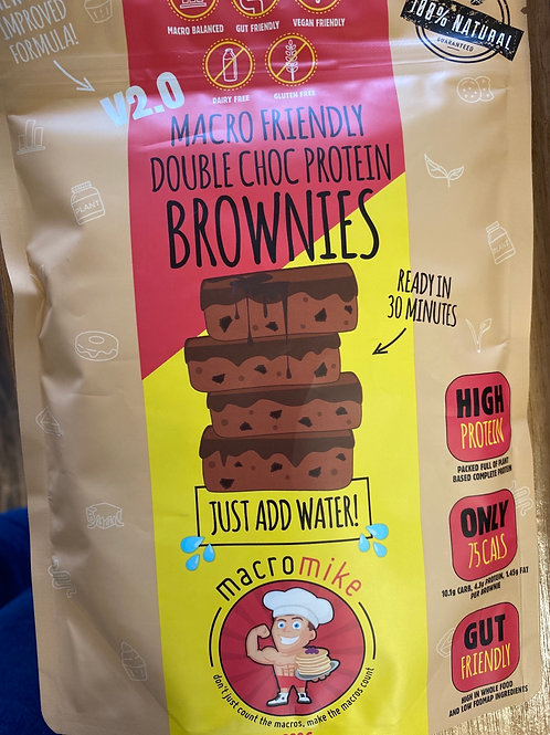 MACRO MIKE - Double Choc Protien Brownie Mix