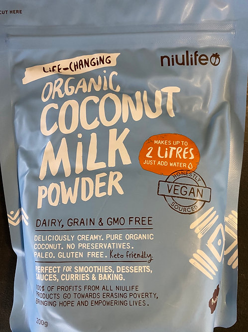NIULIFE - Organic Coconut Milk Powder 200g