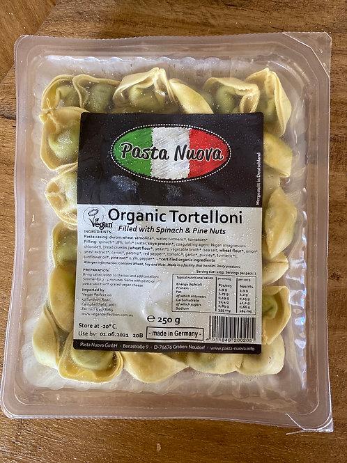 PASTA NOVA - Organic Tortelloni, spinach and pine nuts