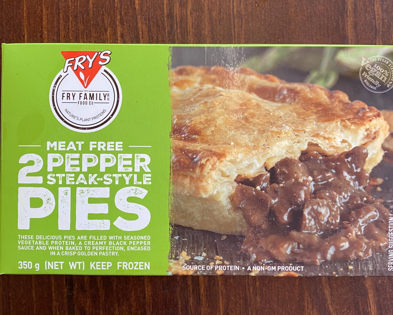 FRY'S Pepper Steak Pies