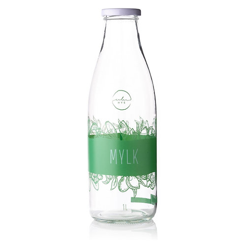 Glass Mylk Bottle 1L