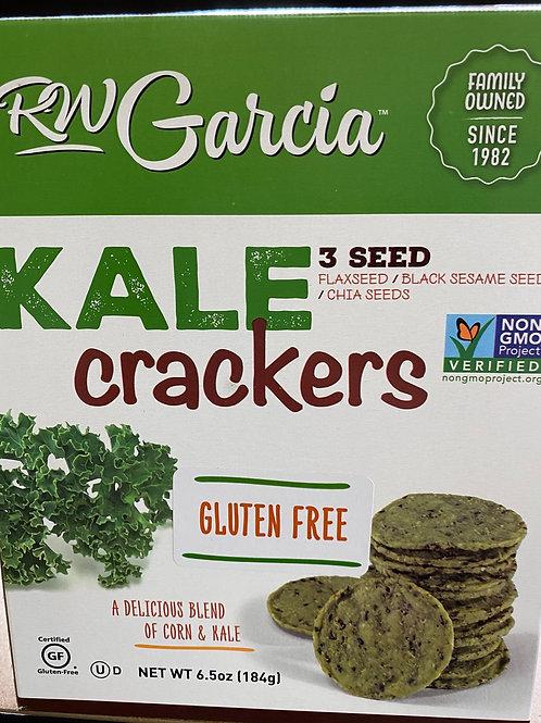 RW GARCIA - 3 Seed Kale Crackers