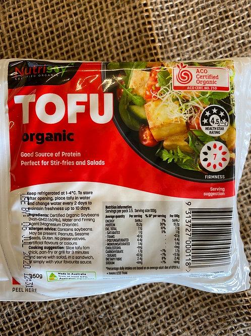 NUTRISOY - Organic Tofu 350g