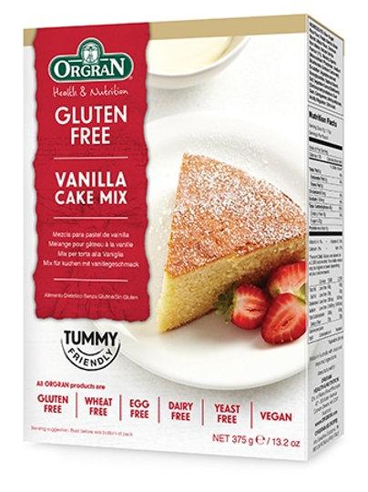 ORGRAN - Vanilla Cake Mix