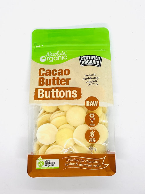 ABSOLUTE ORGANIC - Raw Cacao Buttons 250g