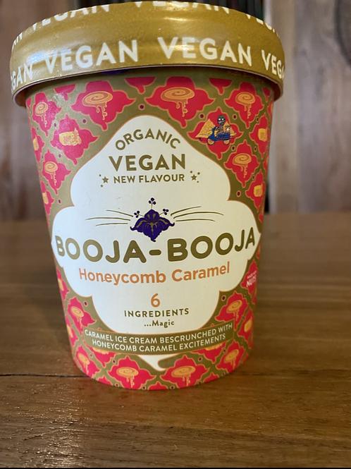 BOOJA BOOJA - Honeycomb Caramel Cashew Icecream