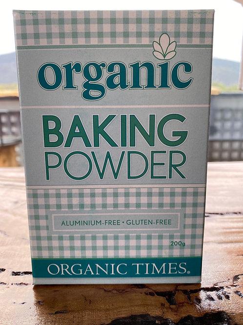 Organic Baking Powder 200g