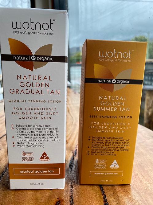 WOT NOT - Natural Golden Gradual Tan