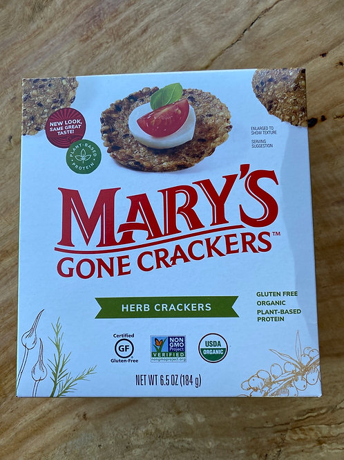 MARY'S GONE CRACKERS - Herb Crackers