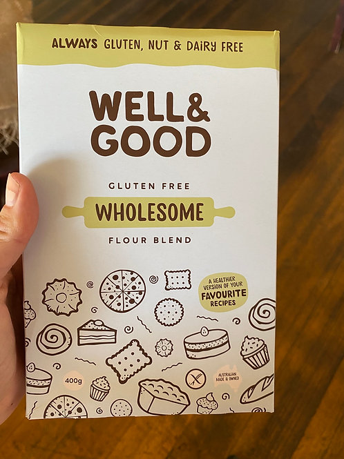 WELL&GOOD -Wholesome Flour Blend GF 400g