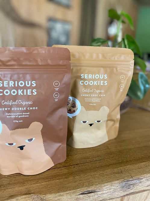 SERIOUS COOKIES - Double Choc Chip